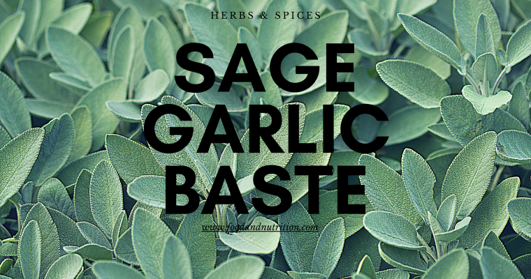 Sage-Garlic Baste