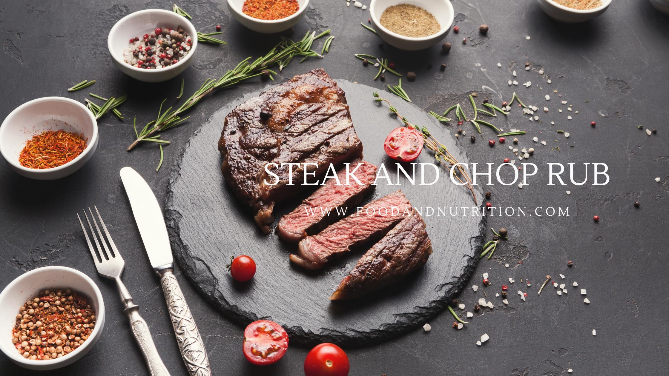 Steak and Chop Rub